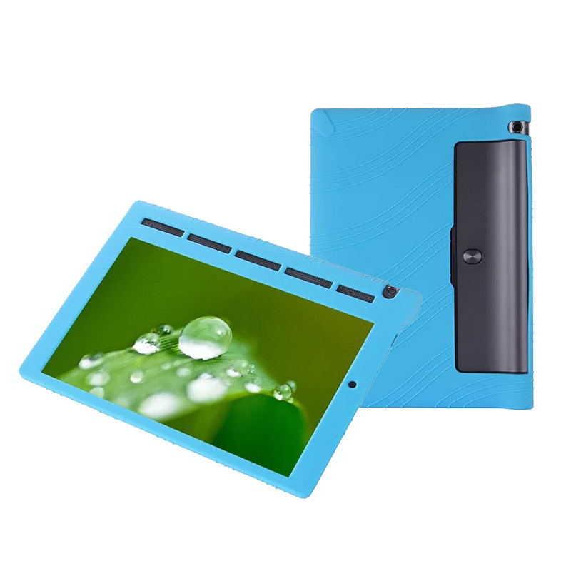 Good Quality Soft Silicone Skin Cover Bag For Lenovo Yoga Tab 3 10.1 Protective Case X50F/X50L 50PCS/Lot By DHL Fedex