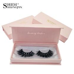 SHIDISHANGPIN 1 Pair mink eyelashes natural long 3d mink lashes 1 box false eyelashes volume eyelash extension cilios maquillaje