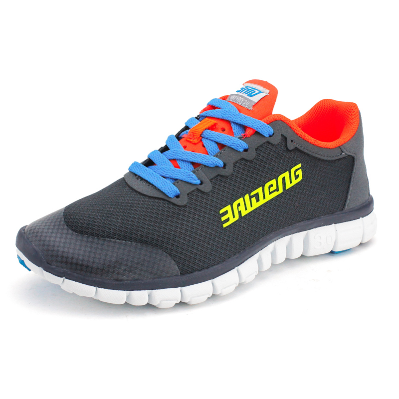 Summer Running shoes Mesh men walking camping shoes Outdoor sport breathable running shoes kelme 2016 new children sport running shoes football boots synthetic leather broken nail kids skid wearable shoes breathable 49