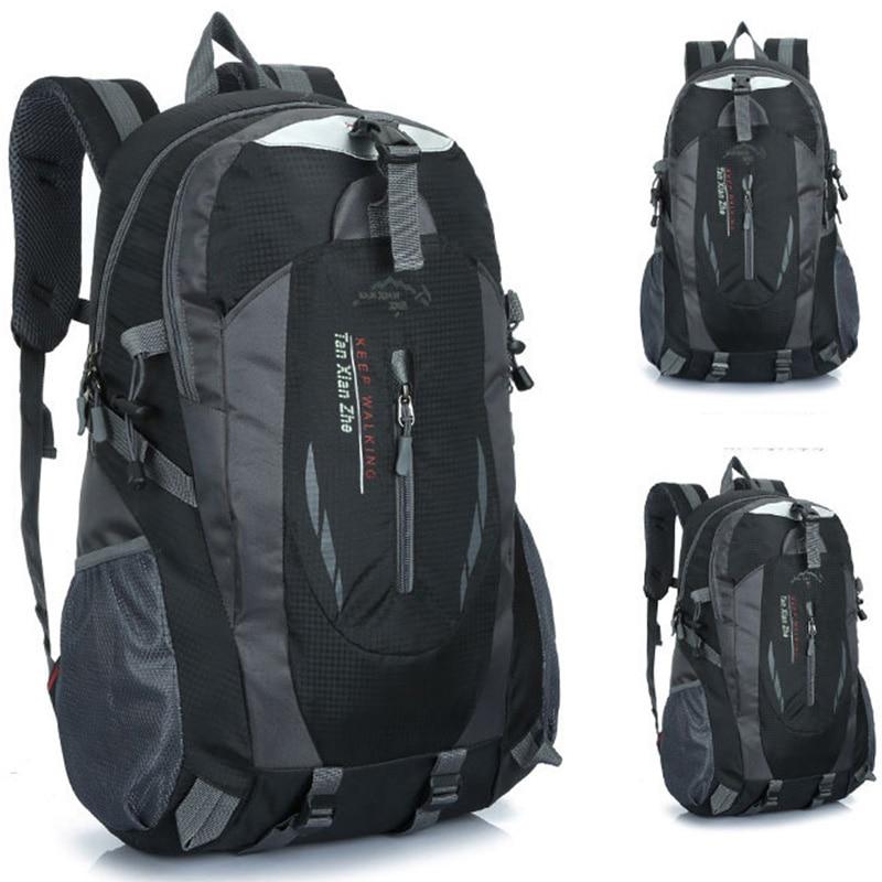 Men's Backpack Waterproof Mutifunctional Male Laptop School Travel Casual Bags Pack Oxford Casual Out Door Black Sport Backpack