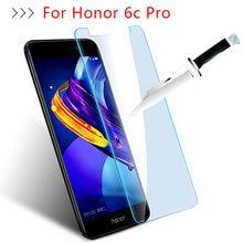 Szkło ochronne na Honor 6c Pro szkło hartowane dla Huawei Hono 6 cpro 6 C C6 ochraniacz ekranu ochrony folia do telefonu obudowa z przodu
