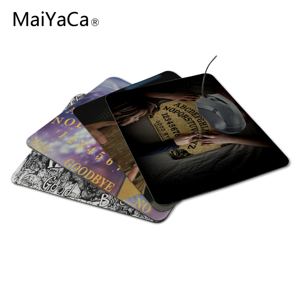 MaiYaCa Oui Ja Board Rubber Mouse Pad Gaming Mousepad Notbook Computer Mouse Pad Cool to Mouse Gamer Free Shipping