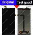 Preto 100% original display lcd + touch screen digitador substituição do painel de vidro assembleia para doogee dg550