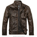 New arrive brand motorcycle leather jackets men ,men's leather jacket, jaqueta de couro masculina,mens leather jackets,men coats