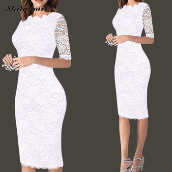 Womens Elegant Sexy Lace Crochet Hollow Out One Piece Dress Suit Pinup Party Evening Special Occasion Fitted Vestidos Club Dress sexy hollow out crochet lace mini dress