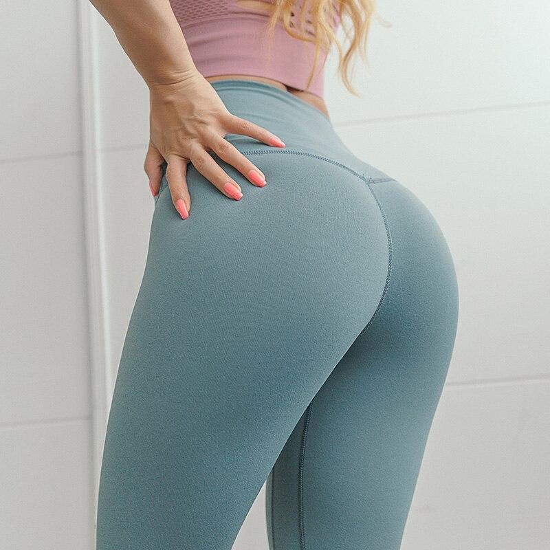 Oyoo Pantaloni Tasca Nascosta Rosso Tummy Controllo A Vita Alta di Yoga Allenamento Corsa e Jogging 4 Way Stretch Ghette di Sport-Da Ginnastica Tozzo calzamaglie