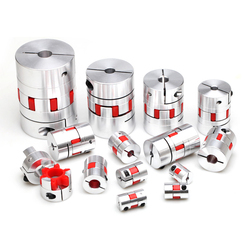 CNC Motor Jaw Shaft Couplers Flexible Spider plum Coupling D25 L30 4mm 5mm 6mm 6.35mm  8mm 9mm 10mm 12mm Elastic Coupling