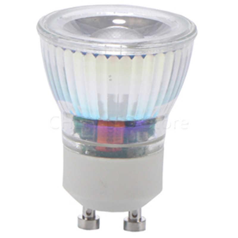 1-10 шт. Mr11 Gu10 Светодиодный светильник 35 мм диаметр 7 Вт 12 В 220 В теплый/холодный белый яркий мини COB с регулируемой яркостью mr11 gu10 Светодиодный точечный светильник лампа