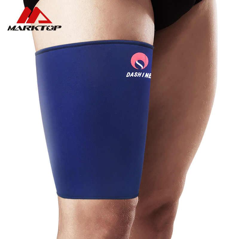 屋外膝サポート太ももバレーボールバスケットボールスポーツ弾性支持腿稼働フィットネス男性と女性