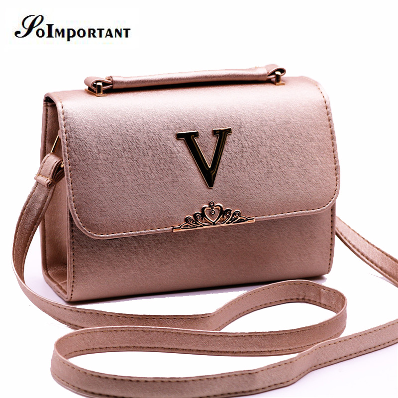 Famous Designer Brand Bags Women Leather Handbags Women V Letter Crossbody Bag Women Casual Tote Shoulder Bag Girl Stella Bag