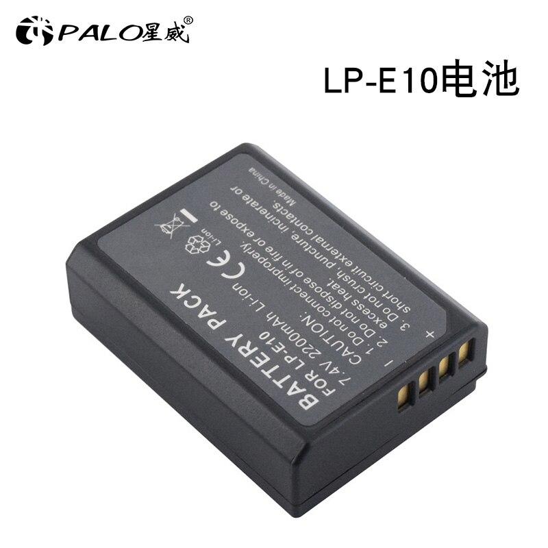 LP-E10 LPE10 Batterie Digital kamera akku für Canon EOS Rebel T3/1100D/Kuss X50 und Rebel T5/ 1200D, rebel T6, EOS 1300D