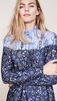 meran oil shirt Unique printed long sleeve shirt Natural shell button
