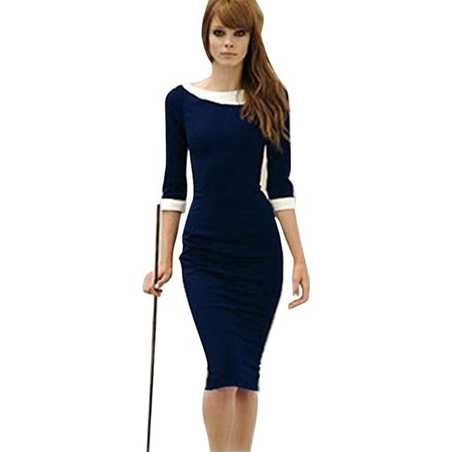Empire Waist Knee Length Dresses