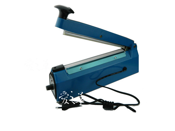 220V Impulse Sealer Hand Heat Sealing Machine Plastic Bag Closer Teflon Sealing