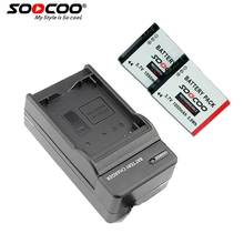 Soocoo на действие Камера Батарея (2 батареи с зарядным устройством) S70/S60/S60B спортивные Камера Батарея 1050 мАч
