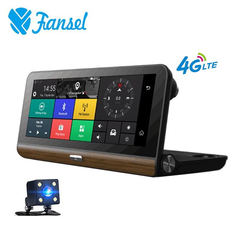 Dash Caméra Dans La Voiture Vidéo Caméra Full HD 1080 p Android 5.1 GPS Navigateur Vidéo Registrator Voiture DVR 8