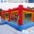 Tamanho personalizado Inflatabel Sporting Castelo Inflável Trampolim Para Venda