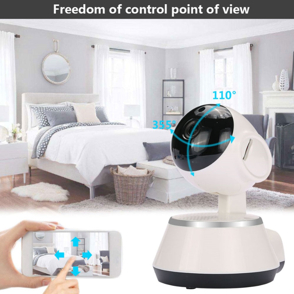 giantree 1MP 360 degree 1080P HD WIFI IP Camera Mini V380 Network surveillance cameras Baby monitor remote control USB interface