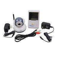 2.5 дюймов Экран Дисплей + Камера Радионяня 2.4 г Цифровой Беспроводной Babe мониторы цифровой Беспроводной Уход за младенцами видео + приемник