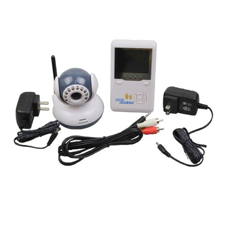 2.5 inch Screen Display+ Camera Baby Monitors 2.4G Digital Wireless Babe Monitors Digital Wireless Baby Care Video+Receiver