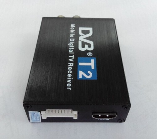 DVB T2 car 120km h 2 Antenna H 264 MPEG4 Mobile Digital DVBT2 car TV Box