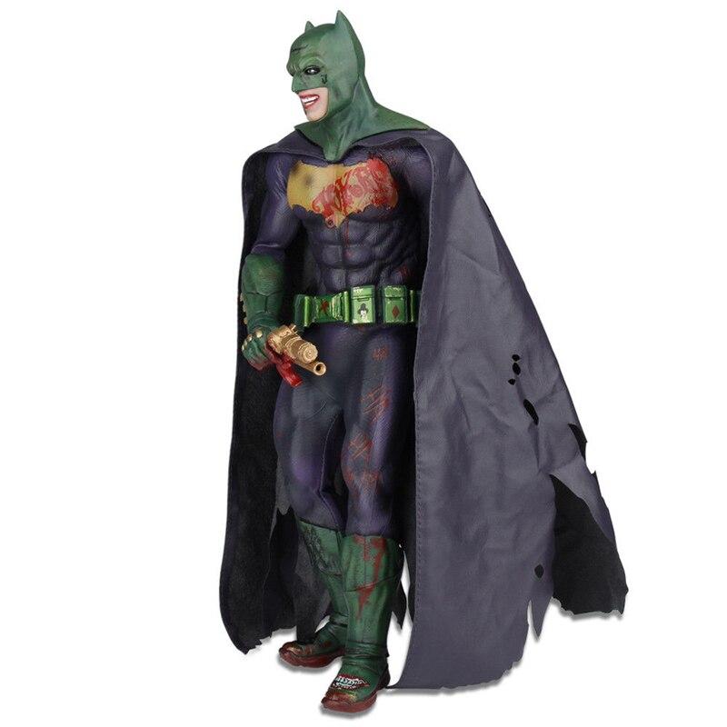 12'' DC The Joker Batman Imposter Version Action Figure 1/6 Scale Collectible Movies Anime Cartoon Figures original box neca dc comics batman arkham origins super hero 1 4 scale action figure