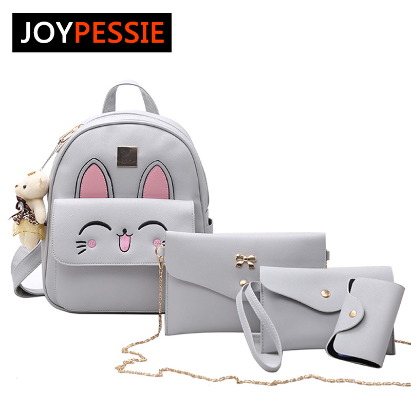 JOYPESSIE Small Women Shoulder Bag Purse Backpacks female School Bags For Teenage Girls Black PU Leather Women Backpack MN6767 aequeen womens backpacks nylon backpack shoulder bags fashion ladies small ruck school for girls travelling shopping bag