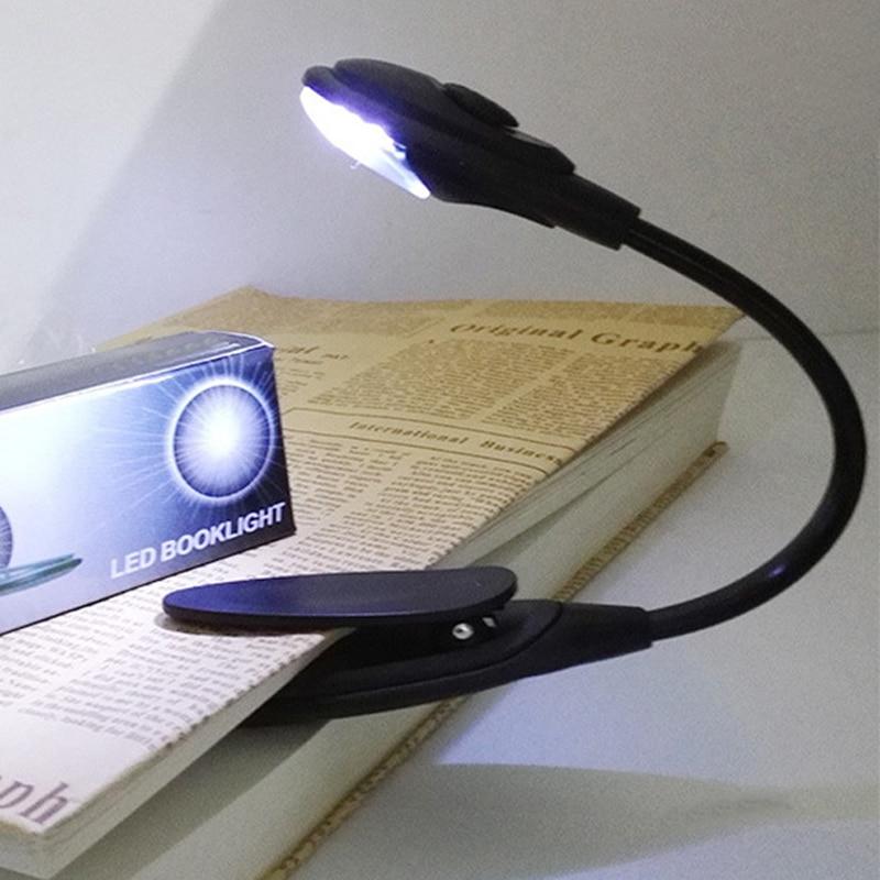 Licht & Beleuchtung Schreibtischlampen GüNstiger Verkauf 1 Stück Mini Tragbare FÜhrte Buch Lesen Licht Lampe Flexible Neuheit Licht Für Laptop Pc Musik Stehen Licht Lampe Einstellbar Clip
