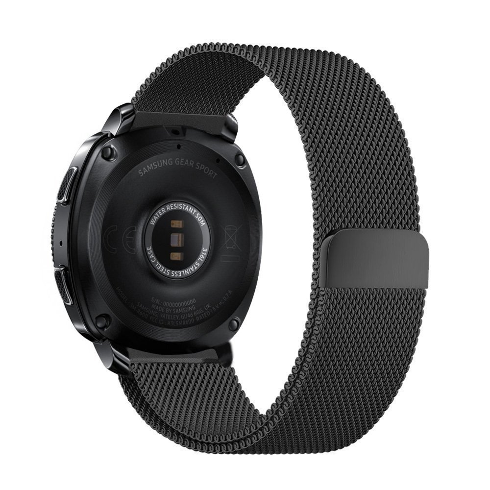 Milanese Loop For Samsung Gear Sport Band Magnetic Closure Clasp Replacement Strap For Gear Sports S4 Smart Watch