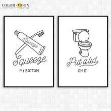 Colormoon минимализм туалетная бумага настенная Художественная
