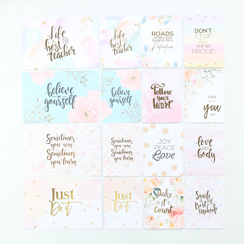 Domikee Kawaii Gold Foil Index Divider Planner Cards Set For Diary Office School Cute Planner Notebooks Accessories Stationery
