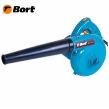Воздуходувка Bort BSS-550-R(Мощность 550 Вт, производительность 180 куб. м/час, регулировка скорости, мешок-мусоросборник