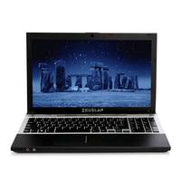 ZEUSLAP 15.6inch Intel Core i7 CPU 8GB+64GB+750GB 1920*1080P FHD WIFI Bluetooth DVD ROM Windows 7/10 Laptop Notebook Computer
