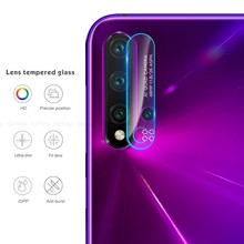 2 pcs Camera Lens Tempered Glass For Huawei Nova 5 Pro Y6 Y7 Y9 P20 Lite 2019 Protective Film For Honor 20 Pro Screen Protector(China)