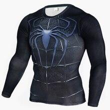 Koszulka treningowa elastyczna długi rękaw HERO