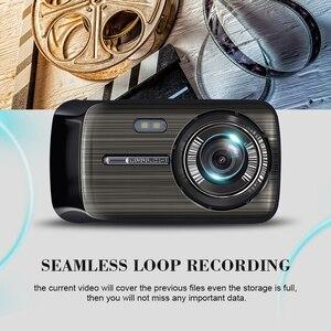 Image 3 - Автомобильный видеорегистратор 2 s 4,0 дюйма, HD цифровой видеорегистратор, Автомобильный регистратор с двойным объективом и камерой заднего вида, видеокамера