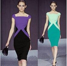 2016 font b Women s b font Fashion Hit Color Pencil font b Dress b font