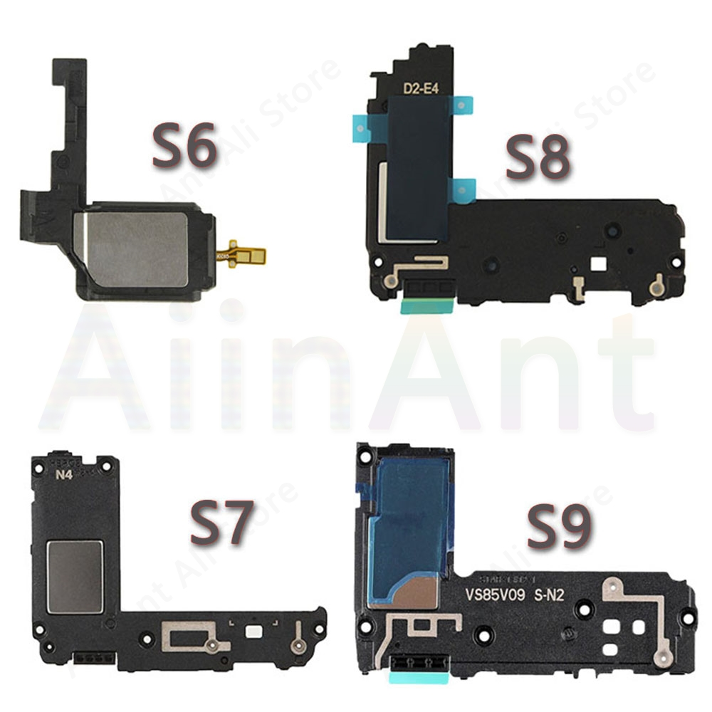 For Samsung Galaxy S6 S7 Edge S8 S9 Plus Original Loudspeaker Ringer Phone Sound Speaker Flex Cable Phone Repair Parts