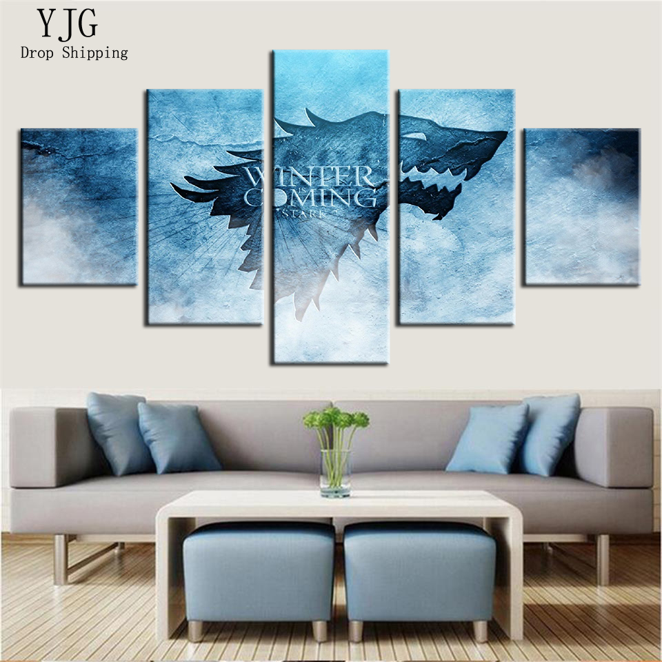 Modern HD Prints Canvas Pictures For Living Room Home