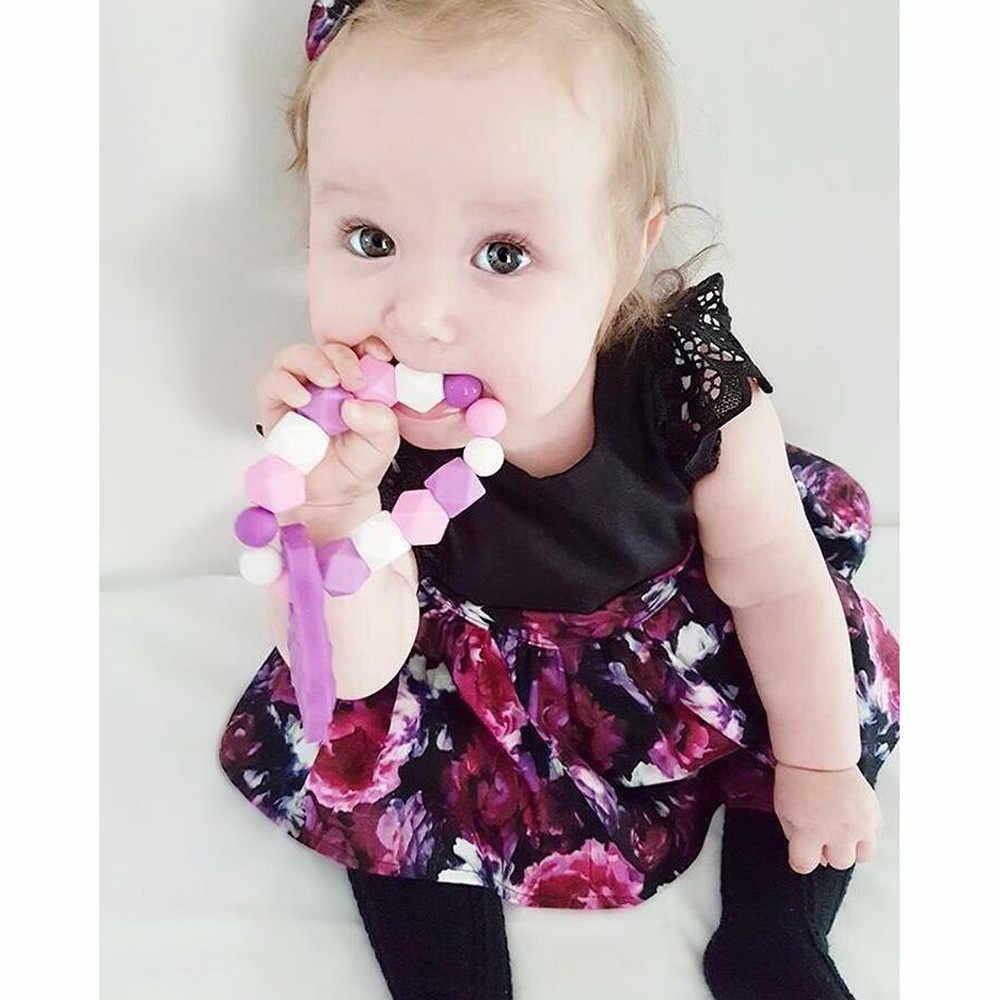 יילוד תינוקות תינוק שמלת בנות פרחוני Romper נסיכת שמלה + סרט אחות תלבושת סט תינוק שמלות ילדה Sukienka Niemowleca
