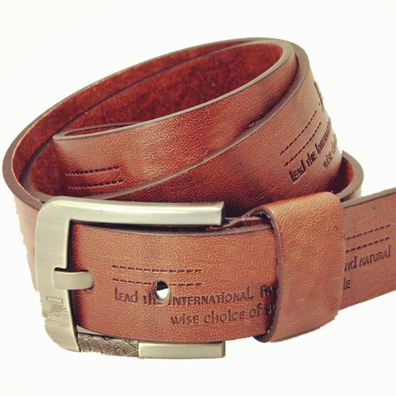 2015 Summer Style Brand Faux Leather Belt Mens Jeans Belts ...