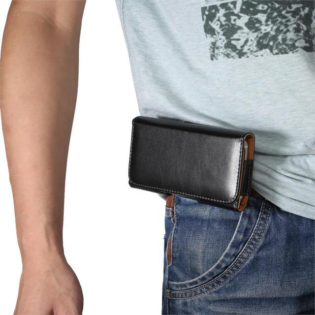 เข็มขัดคลิปซองหนังซองโทรศัพท์มือถือกระเป๋าสำหรับiPhone 5 5