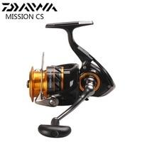 DAIWA MISSION CS Spinning Fishing Reel 2000 2500S 3000S 4000S 5.3:1 4BB Moulinets De Peche Spinning Wheel Carretilha