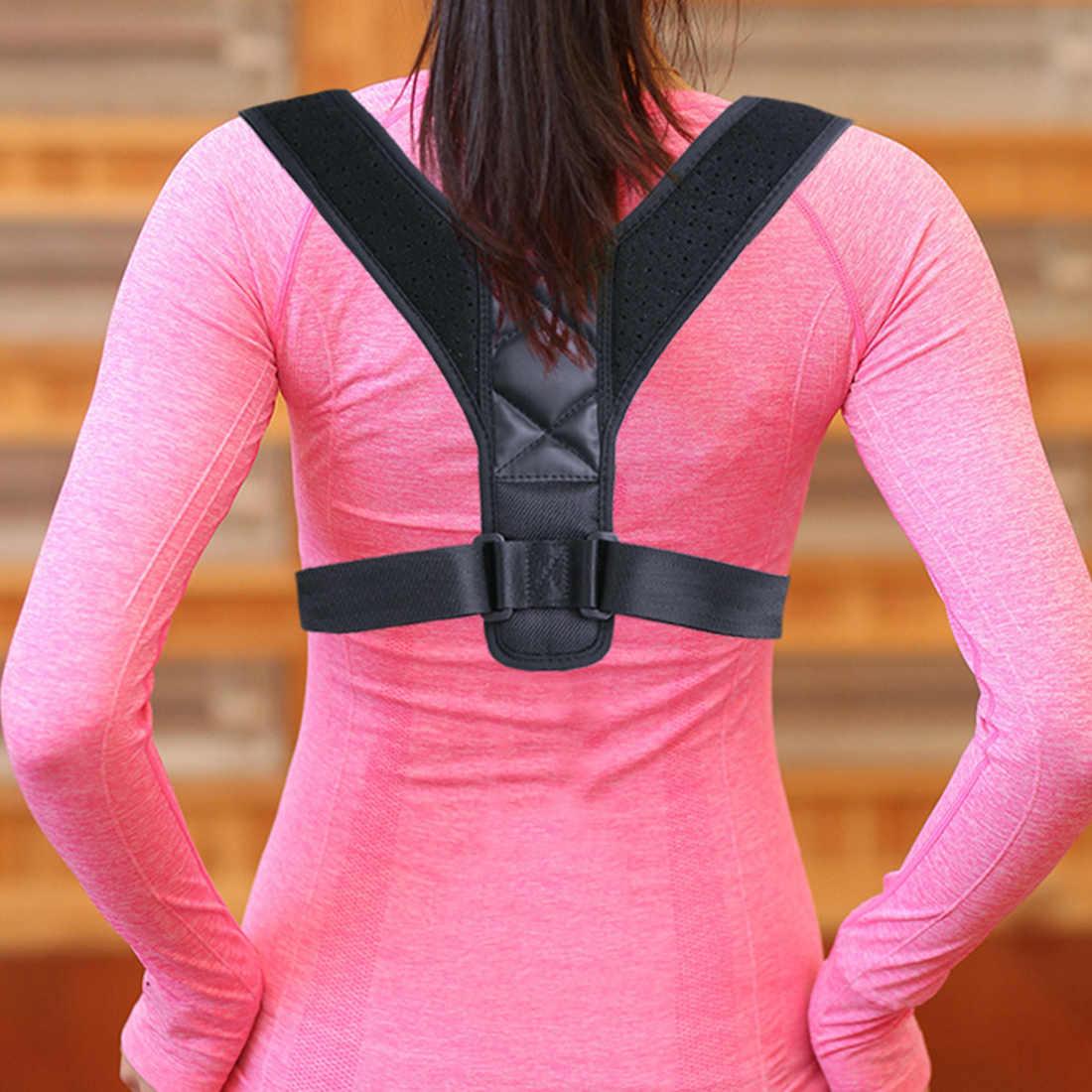 Einstellbar Erwachsene Kinder Korsett Wirbelsäule Unterstützung Gürtel Schlechte Haltung Korrektor Rückseite Schulter Haltung Korrektur Gürtel corretor postural