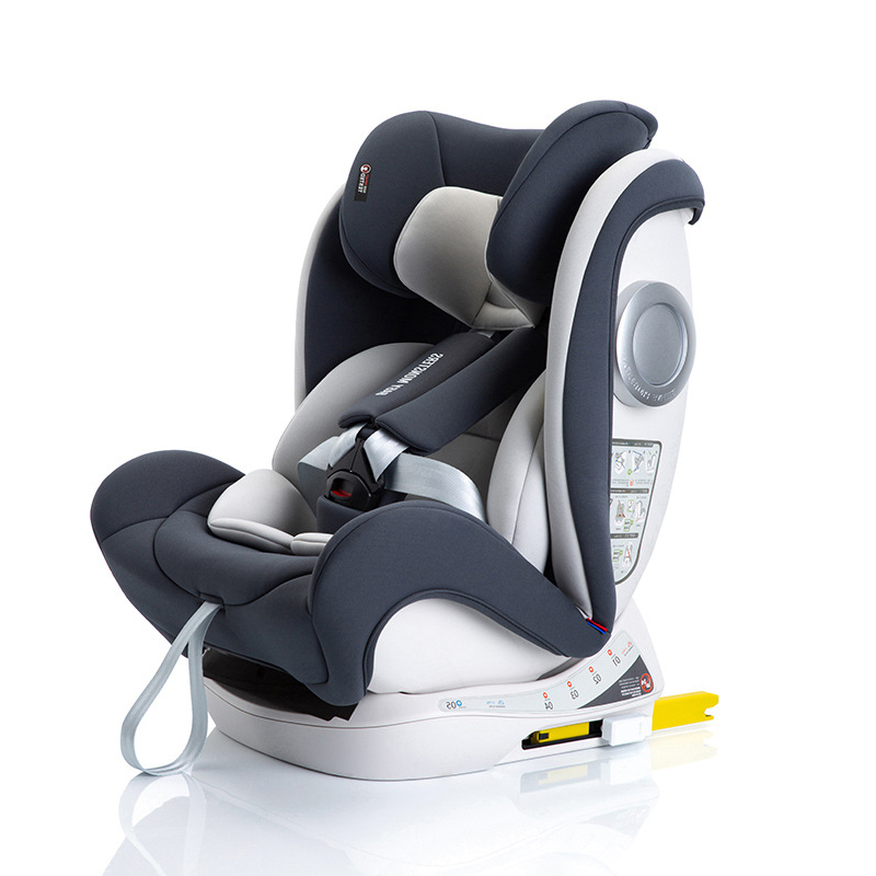 Child Car Safety Seat 0-12Y Baby Booster Seat with Isofix Latch Interface Two-way Installation Multiple Gears AdjustableChild Car Safety Seat 0-12Y Baby Booster Seat with Isofix Latch Interface Two-way Installation Multiple Gears Adjustable