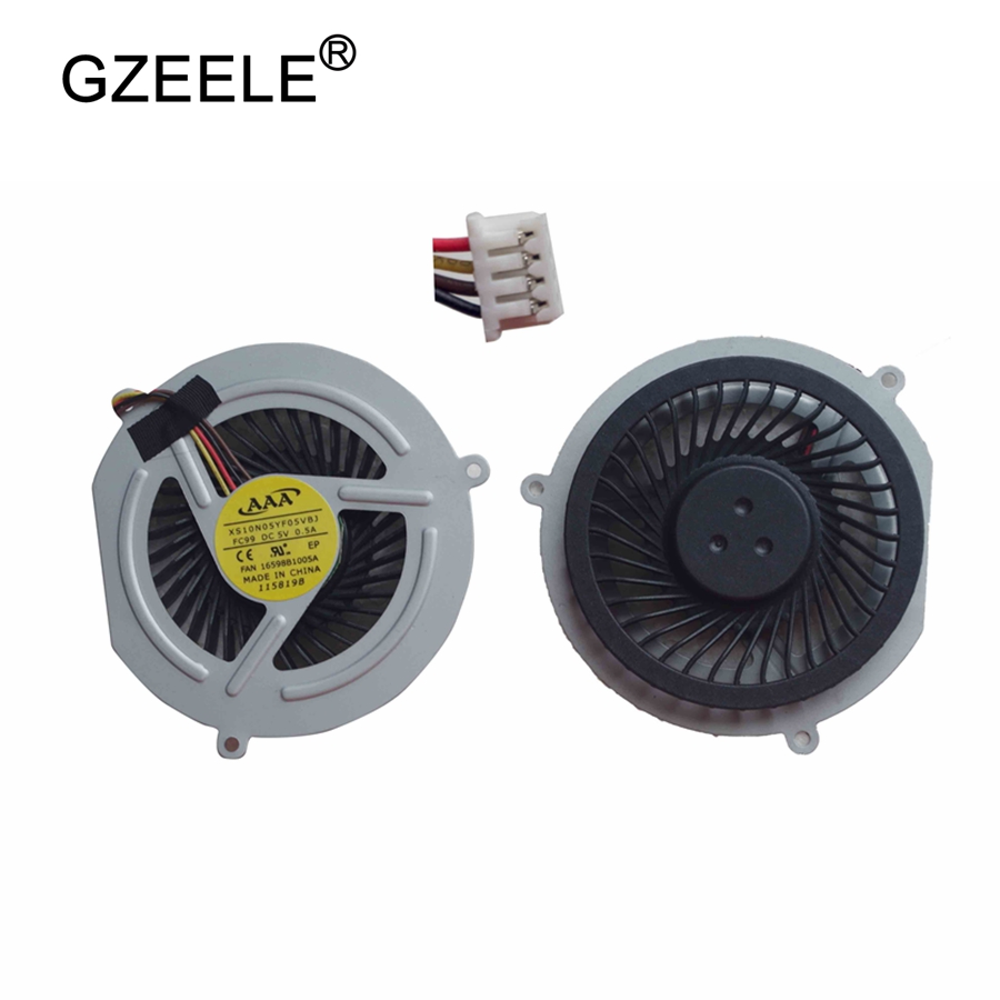 GZEELE NEW Laptop cpu cooling fan for Lenovo Y470 Y470P Y470N Y471 Y471A Notebook Cooler Radiator Cooling Fan  4 Lines radiator cooling fan relay control module for audi a6 c6 s6 4f0959501g 4f0959501c