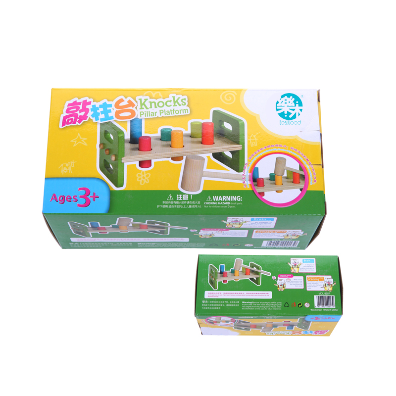 Baby-toys-Wooden-Knocks-pillar-Platform-wood-toys-Hammering-Children-Early-Learning-Educational-Toys-Brand-free-shipping-3