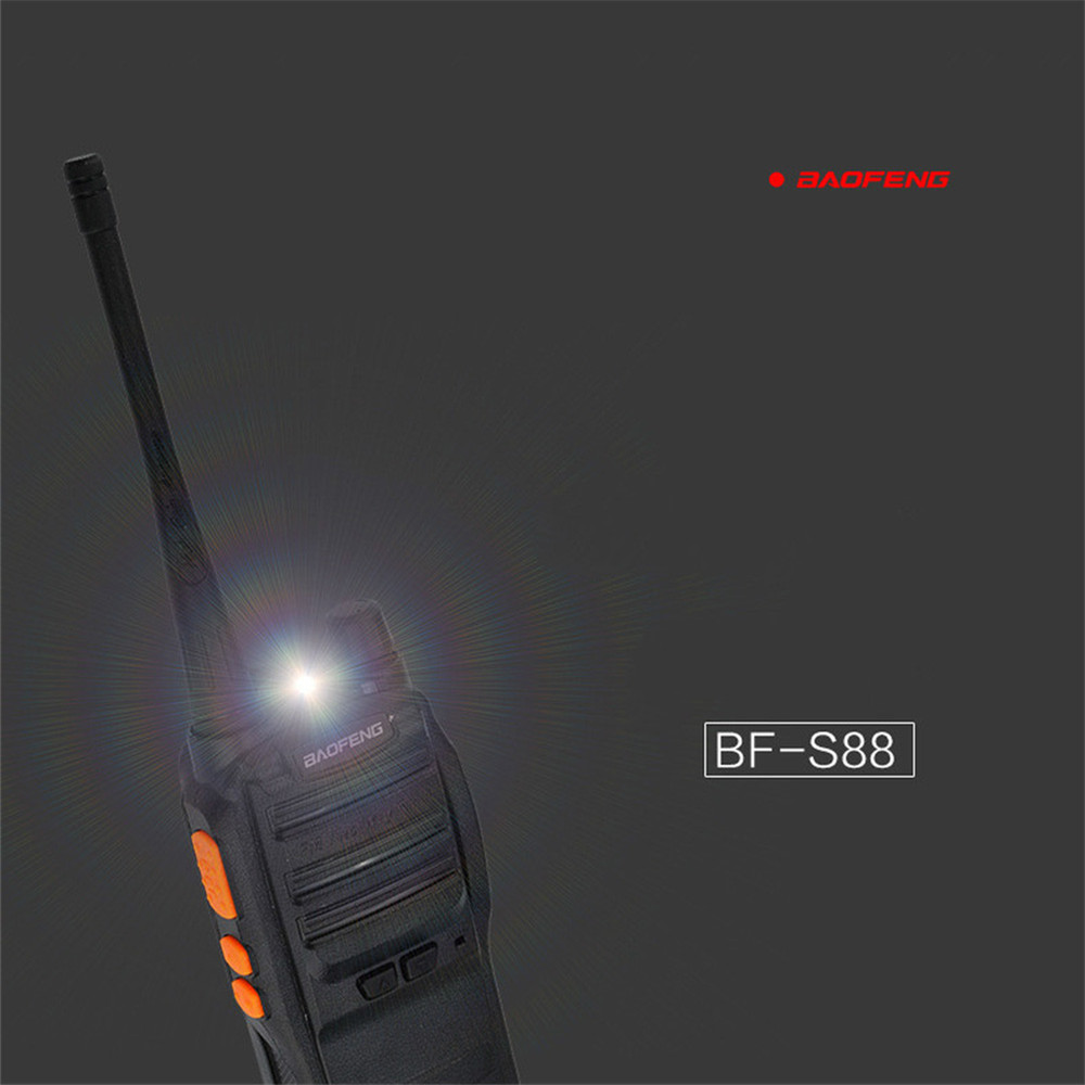 Image 4 - Baofeng S88 2 Mini Walkie talkie Wireless Portable Private Drive Hotel Tourie Security Walkie talkie 5KM Radio Comunicador-in Walkie Talkie from Cellphones & Telecommunications
