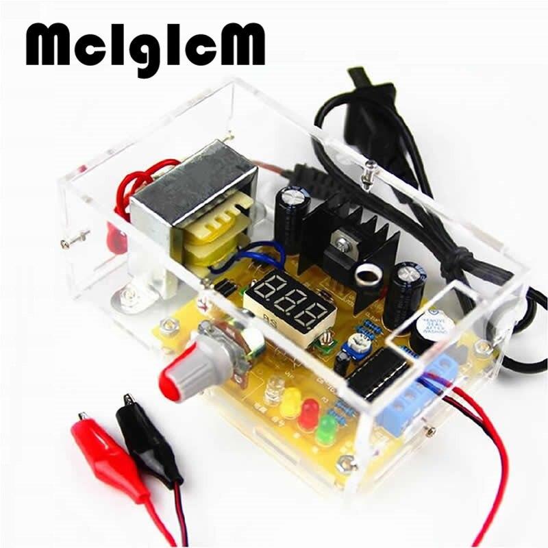 ערכת DIY מתח מתכוונן LM317 כוח חלקים אלקטרוניים ו ייצור אלקטרוני ערכת הדרכה DIY מתח פונקציה רב