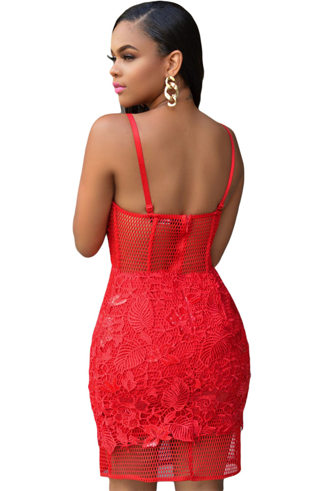 Popular Spaghetti Strap Red Dress-Buy Cheap Spaghetti Strap Red ...